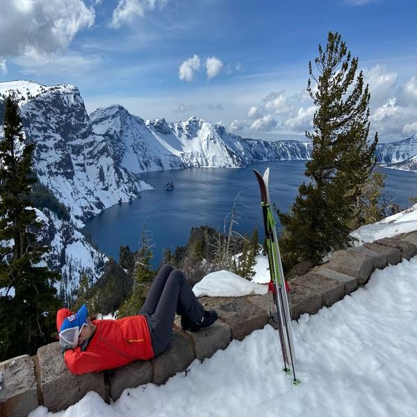 Crater Lake Ski Circumnavigation Trip Report March 6-7, 2020