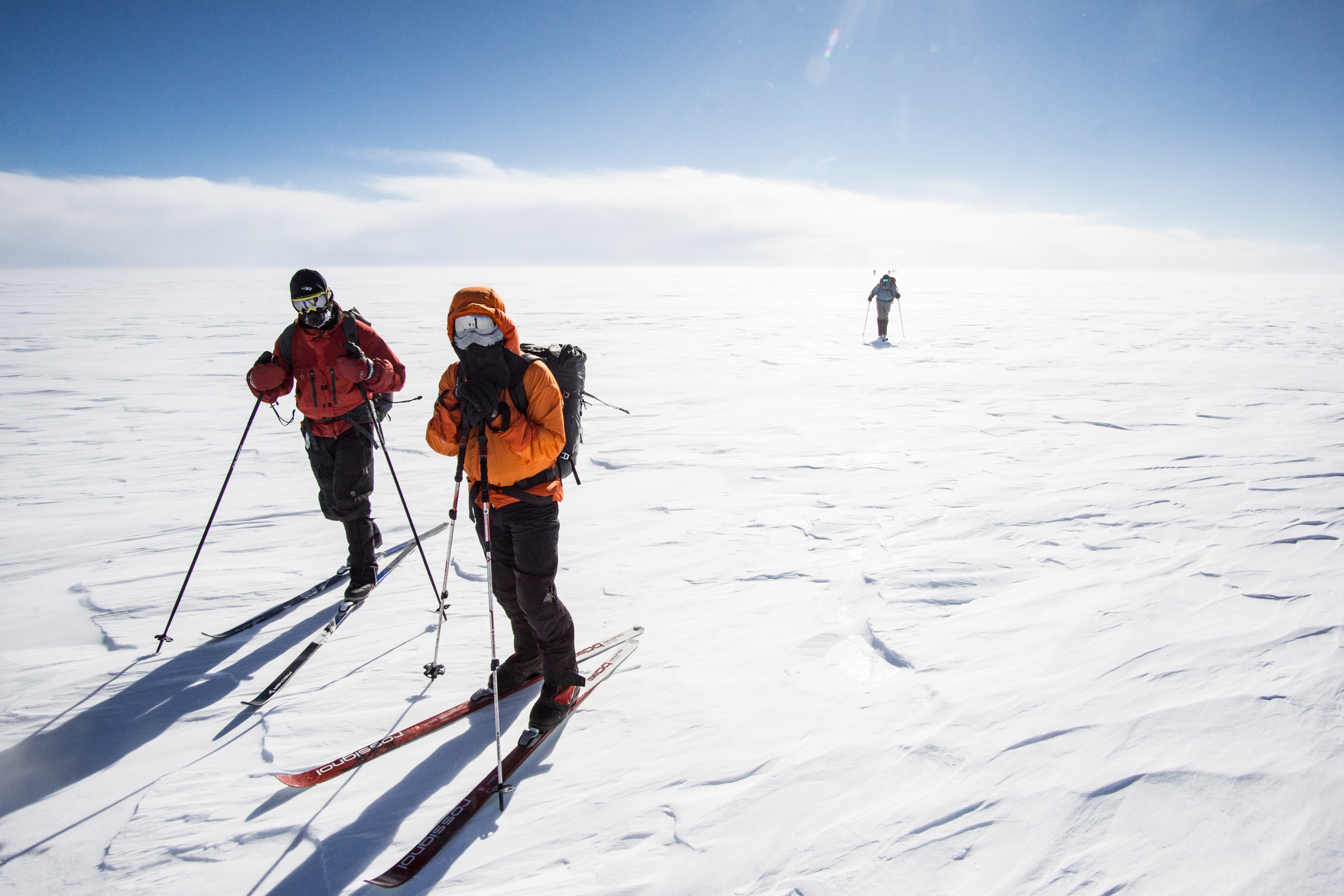 Crossing Greenland by Ski and Dogsled