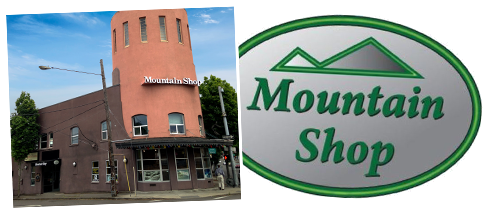 Mountain Shop moves from original Broadway location to NE Sandy, in the historic Steigerwald Dairy building.