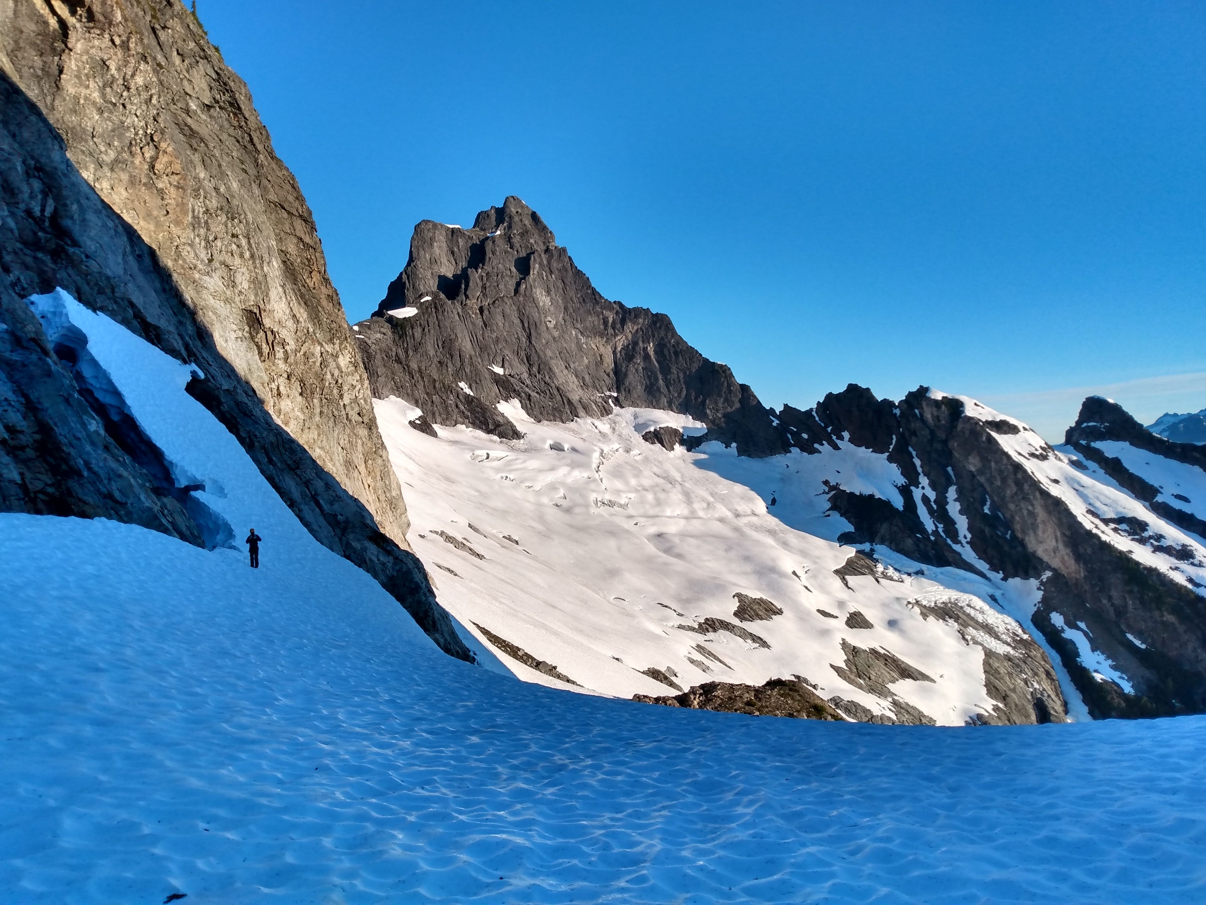 PHOTO: Mt Triumph from Col