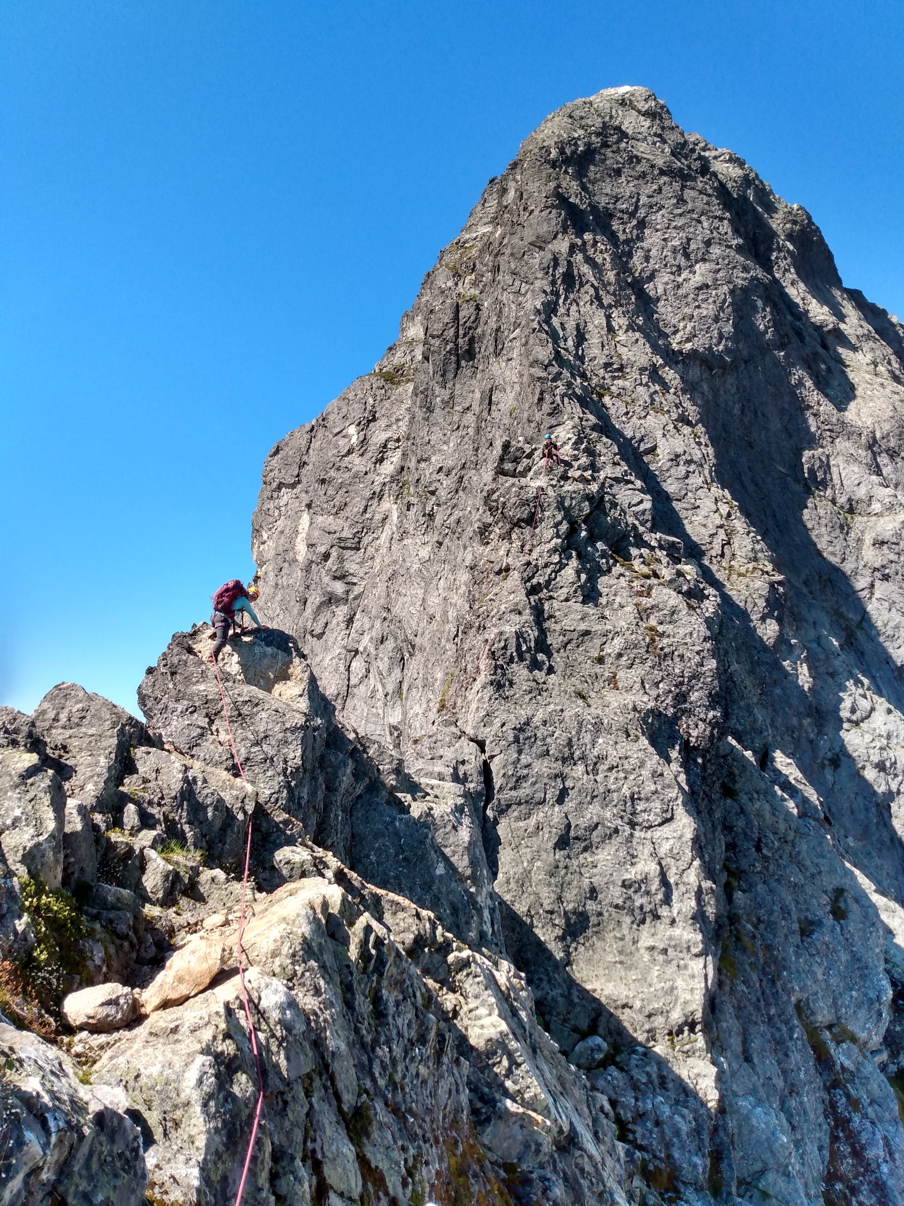 Photo: Ridge Climbing